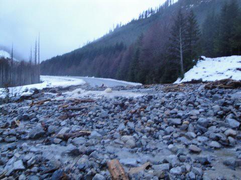 bc vancouverisland mudslide hwy19 beavercove saywardroad tranbc bchwy19 saywardroadbridge