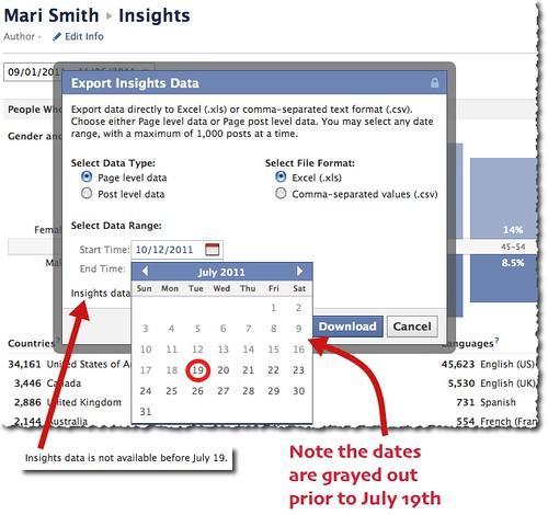 Facebook Insights - New Data