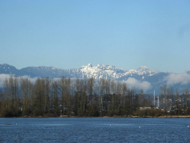 THE LIONS.....MOUNTAINS IN VANCOUVER'S NORTH SHORE THAT  RESEMBLE TWO STATELY LIONS.