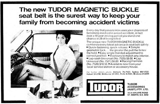 1969 Tudor seat belts ad | by sv1ambo