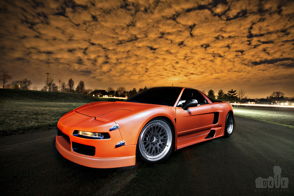 The Creamsicle ; Brian's nsx
