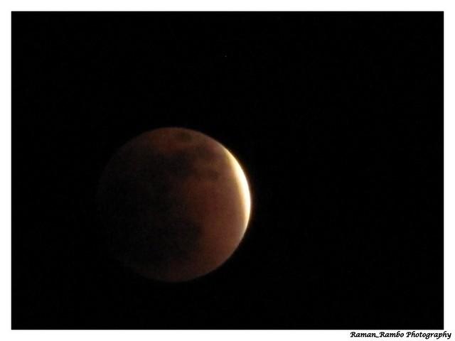 Kothaligad (Peth) Trek - Lunar Eclipse from top of the fort
