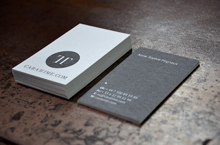 Business Card - Caratime | by lamoulade