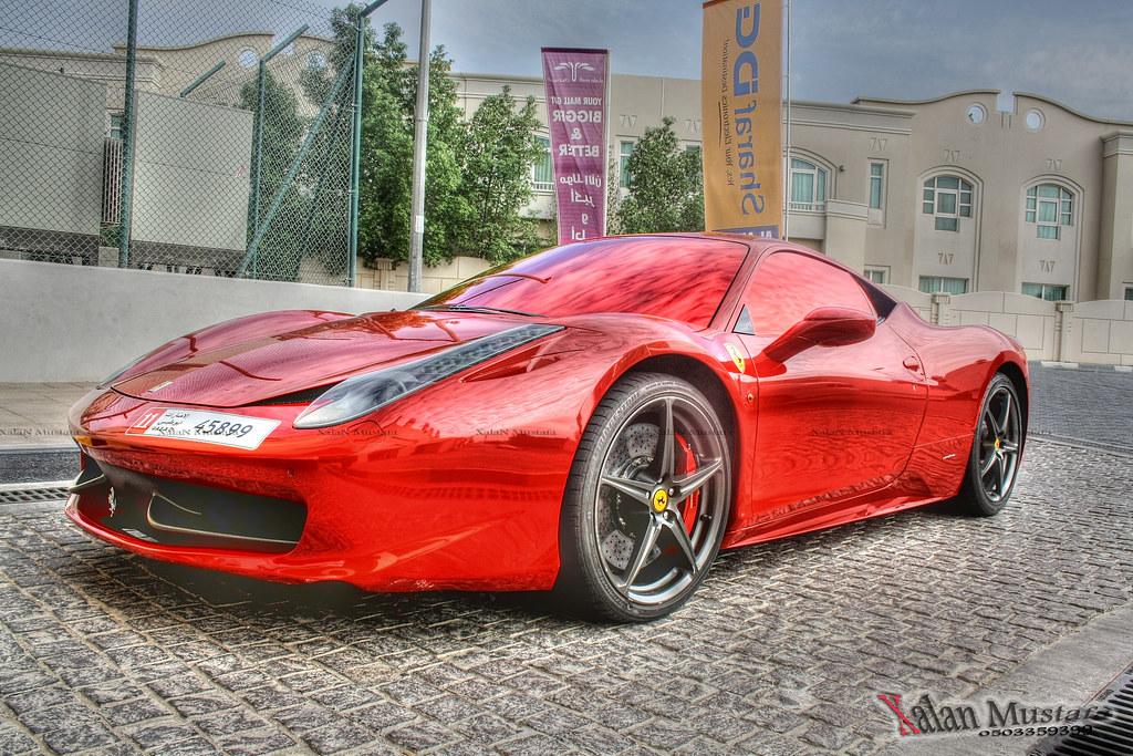 Ferrari 458 Italia In Red Chrome Tint In Alain I Was Passi Flickr