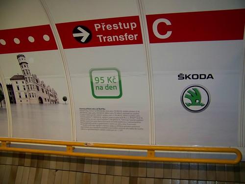 Prague, Czech Republic and Skoda.