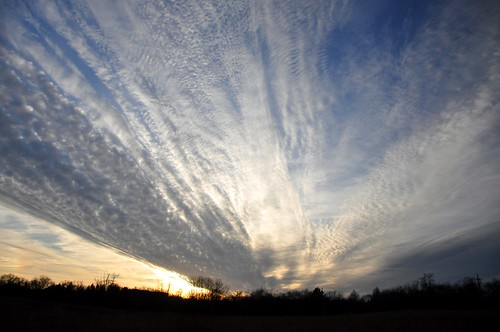 blue winter light sunset sky sun sunlight white black color texture silhouette clouds dark evening day open bright cloudy dusk wide january bigsky spectacle striation