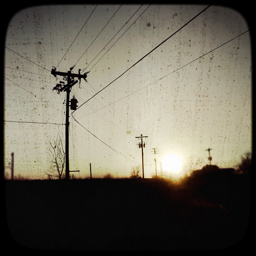 sunset austin landscape texas telephone olympus wires poles odc leadinglines epl1 ourdailychallenge