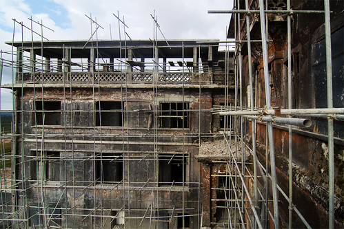 Former Casino on Bokor Hill Under Renovation | by Chea Phal
