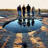 Group Shot, BTS (Arabia Mountain sunrise) by HamWithCam