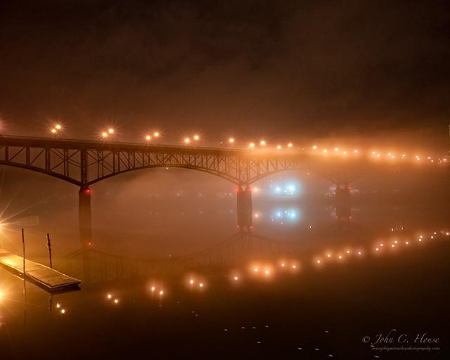 Foggy Night, Gay Street Bridge