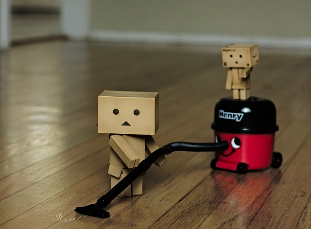 Never let it be said that a Danbo doesn't know how to earn his keep!