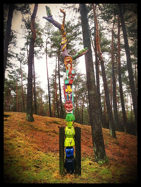 Totem in the Forest