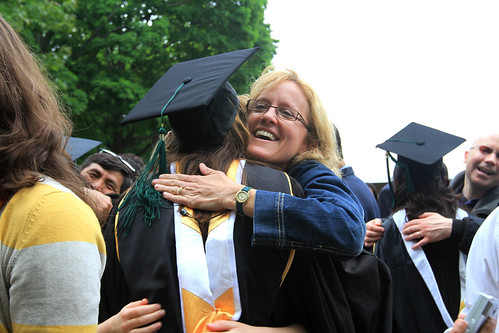 Convocation 2011: Congratulatory Hug