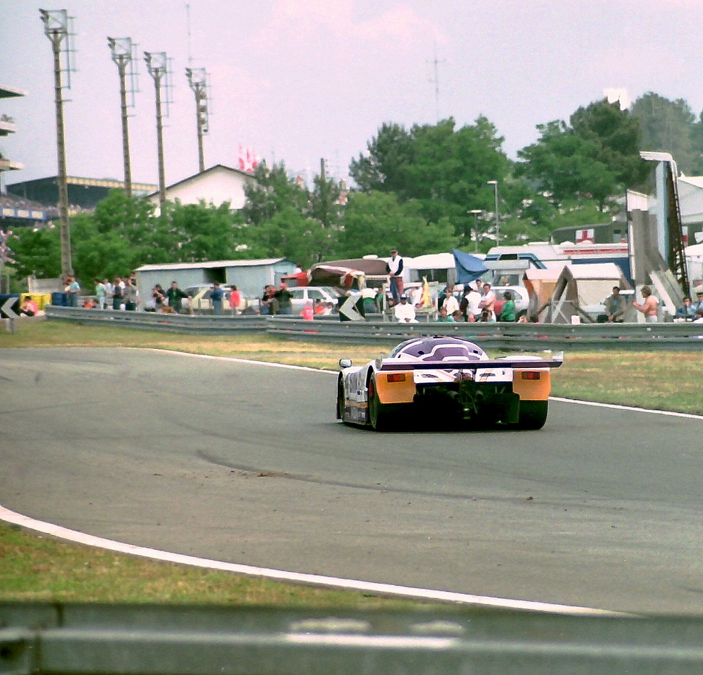 Jaguar XJR-8 - Eddie Cheever, Raul Boesel & Jan Lammers at ...
