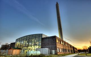 ZARM Drop Tower Bremen   by Peter Gorges