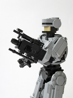 Robocop and his gun arm | by Marin Stipkovic