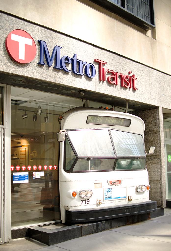 Metro Service Center >> The Metro Transit Service Center On Marquette Avenue In Mi Flickr