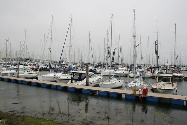 Marina in Lymington