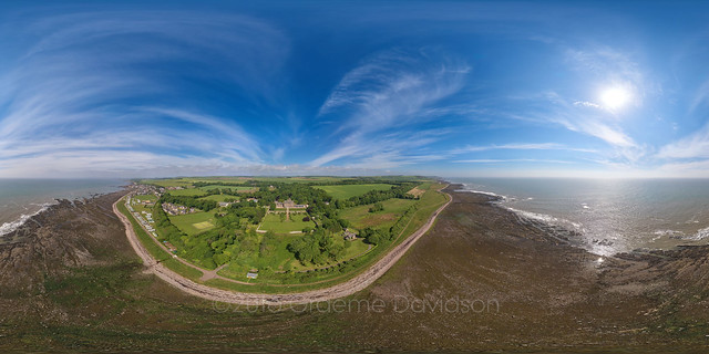 Johnshaven and Lathallan Aerial Photosphere 19-06-2016a