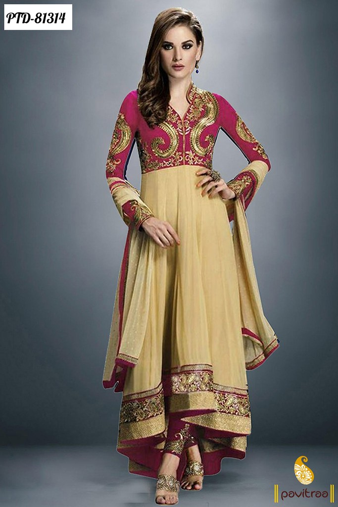 11fe0cb60e ... Modern Indian Dress Anarkali Frock Suits for Marriage | by Pavitraa  Fashion
