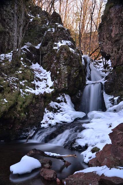 cascade du brigandou hiver 2