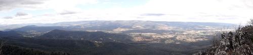 panorama mountain landscape buxton victoria taggerty