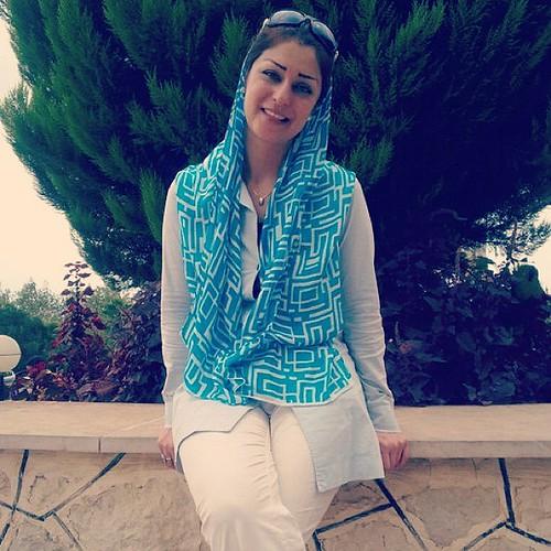 Sexy Iraqi Alia Al Shammari television presenter