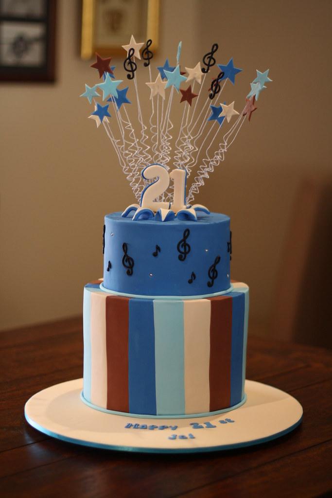 Jais 21st Birthday Cake