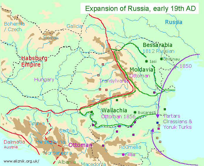 Expansion of Russia, early 19th AD | everything2 com/title/R… | Flickr