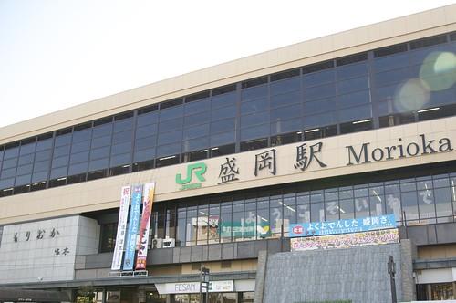 盛岡駅   by nauleyco