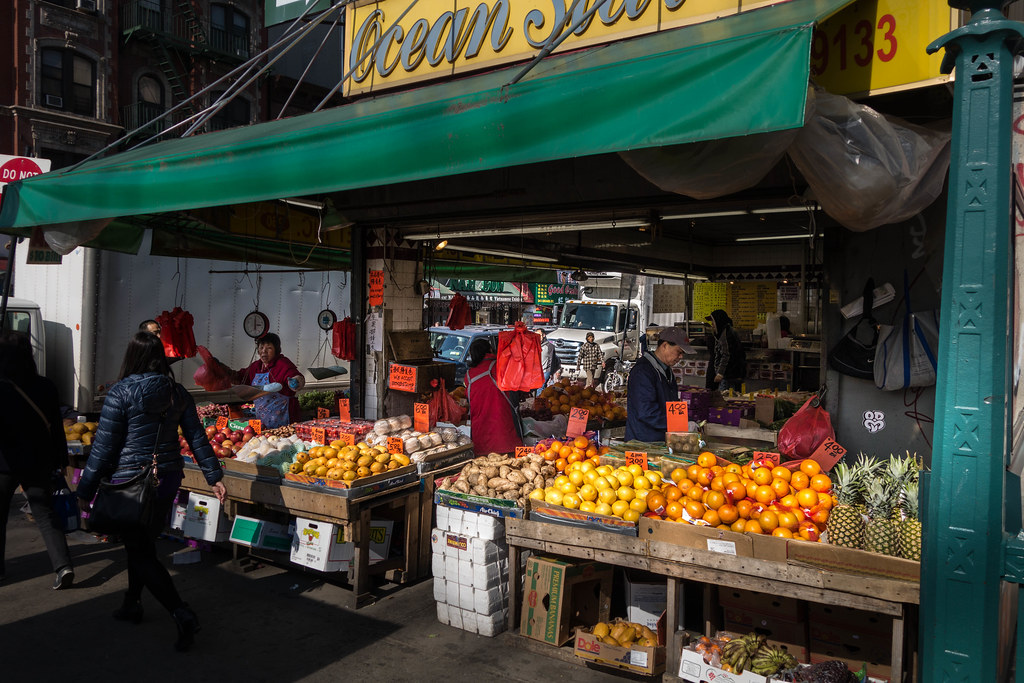 Nyc Everyday Imagery Ocean Star Market Chinatown Flickr