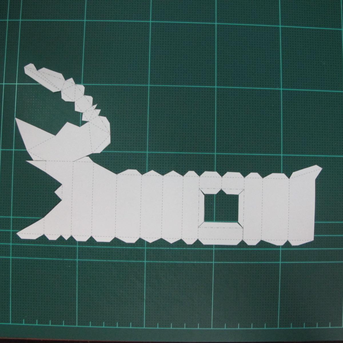 วิธีทำโมเดลกระดาษตุ้กตา คุกกี้สาวผู้ร่าเริง จากเกมส์คุกกี้รัน (LINE Cookie Run – Bright Cookie Papercraft Model) 005