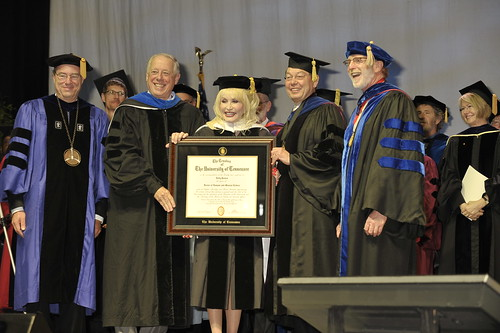Dolly Parton Receives Honorary Doctorate