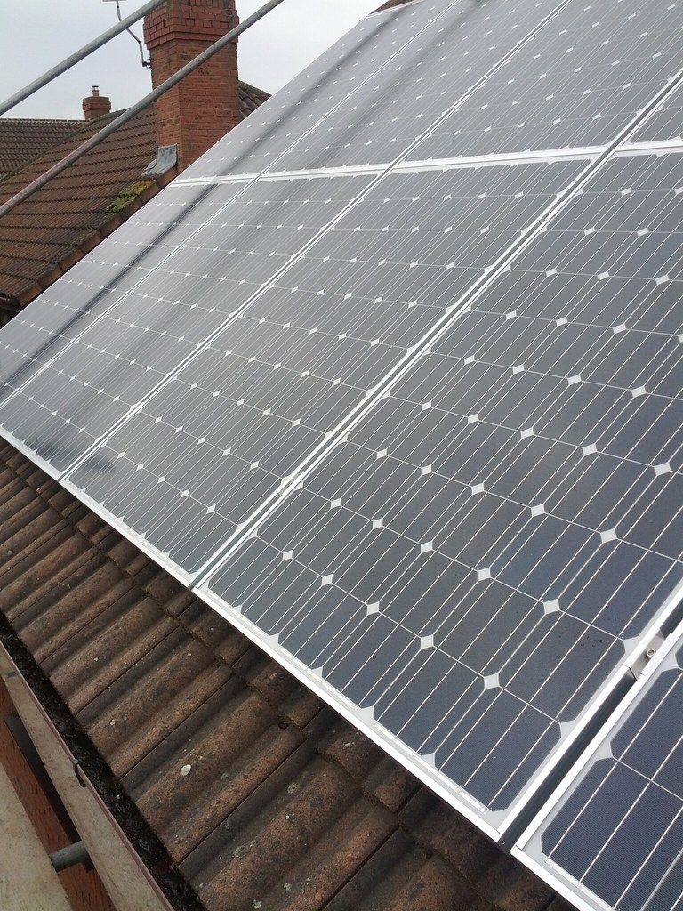 Solar panels on my roof