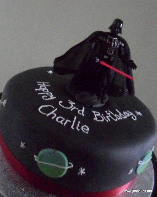 Wondrous Darth Vader Birthday Cake Space Themed Birthday Cake With Flickr Birthday Cards Printable Trancafe Filternl