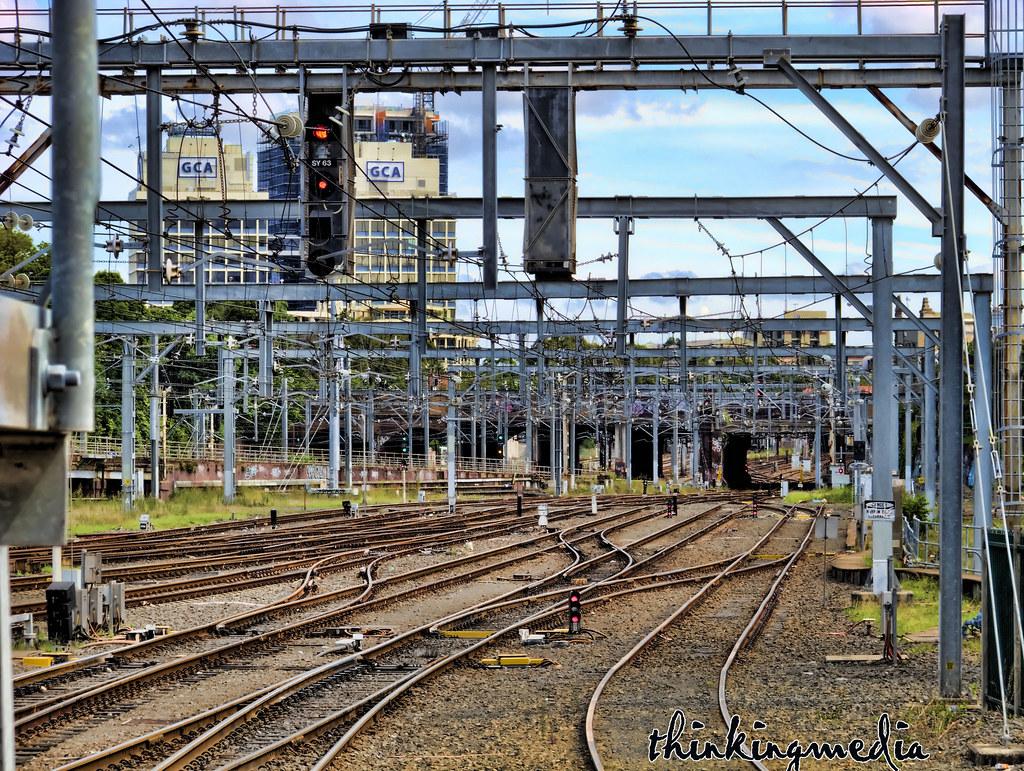 Sydney Yard Rail Sidings c.1906 by Governor Macquarie