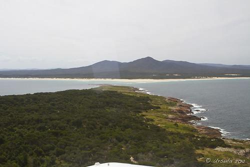 sea mountain island view australia aerial vic gabo coopracambranationalpark gaboislandadventure merimbulaairservices