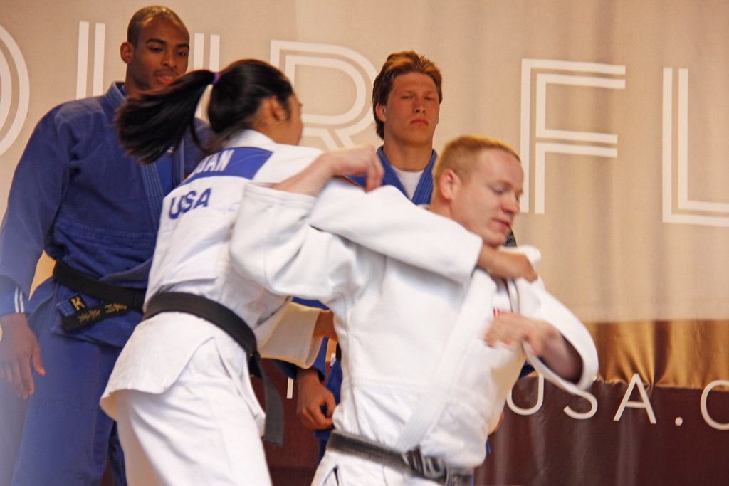 US Olympic Team - Judo Exhibit Times Square New York City … | Flickr