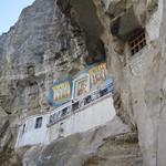 Bakhtchyssaraï - L'église dans la montagne