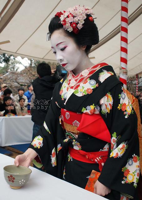 Maiko 'Katsune' / Tea Ceremony