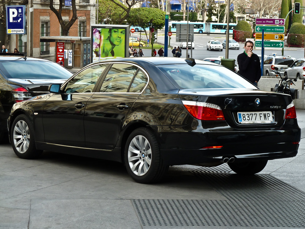 A Sense Of Arrival : BMW 5-Series Limousine @ The Westin Palace Hotel, Plaza De Las Cortes 7, Madrid, Spain