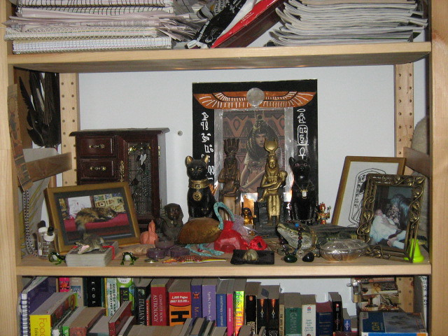 Miscellaneous Kemetic Shrine 2007 | This was a space for all… | Flickr