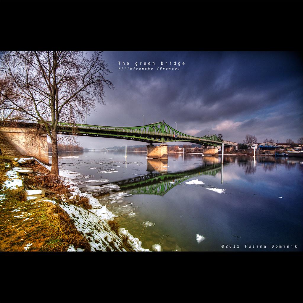 The Green Bridge   Villefranche (France)