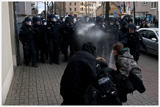 Police provocation in Dresden I | by Libertinus