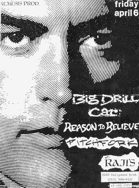 Big Drill Car / Reason To Believe / Pitchfork