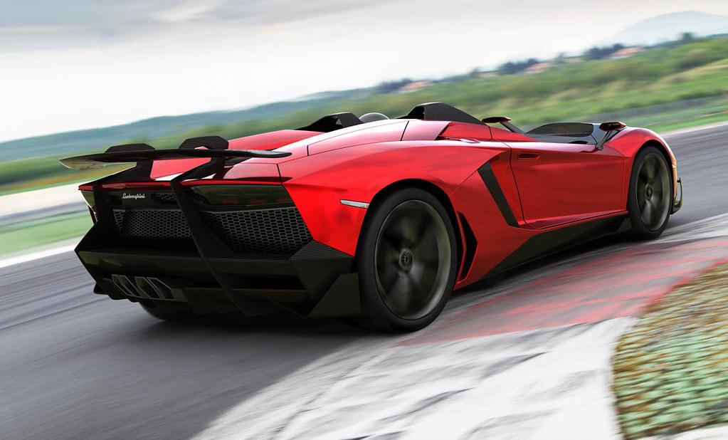 Lamborghini Aventador J Concept Revistadelmotor Flickr