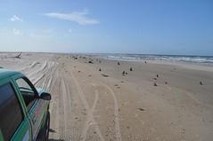 Per la platja fins a Caburé