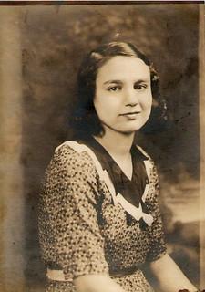 Aunt Jean (Olga) (Maternal Side) 1934