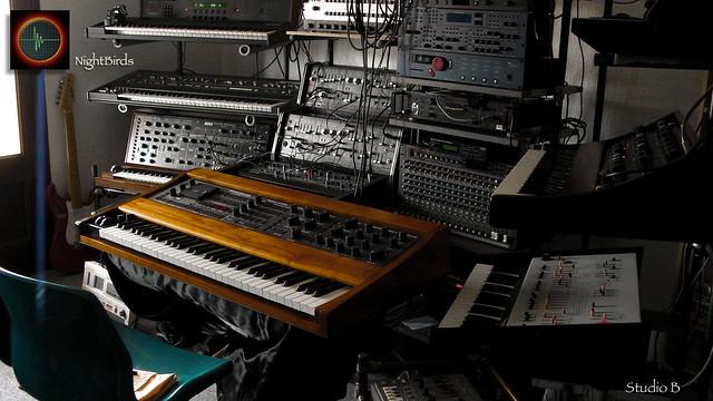 NightBirds Studio B (NightBirds Electronic Music Studio : Archives - 2012)