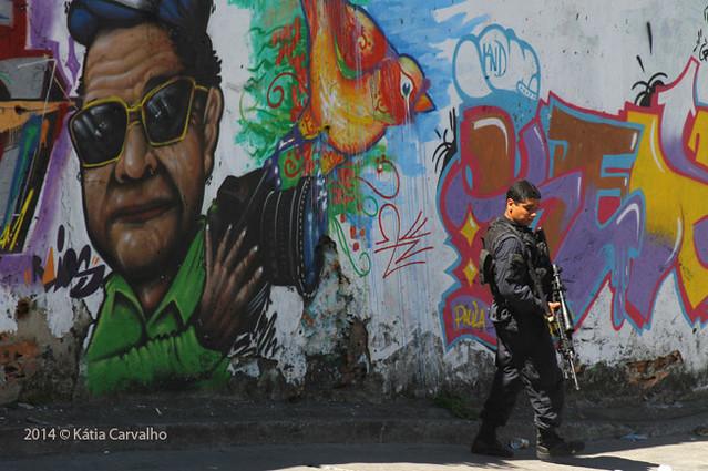 Complexo Do Alemão / Rio De Janeiro © Kátia Carvalho